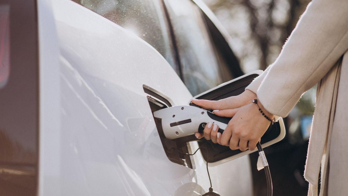 La part de voitures électriques chez les taxi et VTC